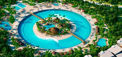 Dise o piscinas mediterraneo for Lagunas artificiales construccion